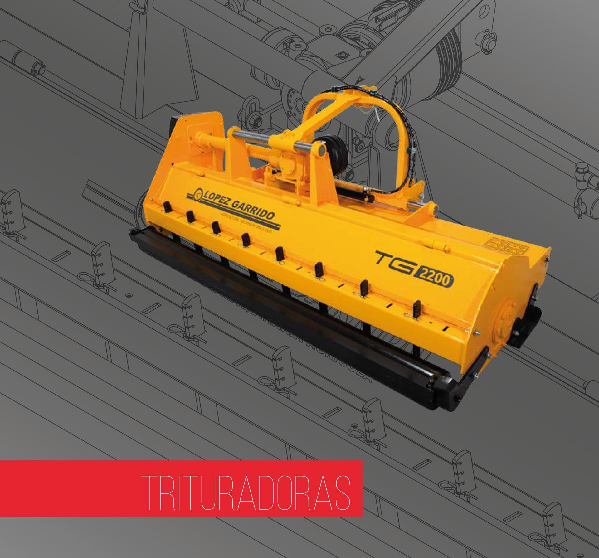 Trituradoras de martillos para tractor López Garrido