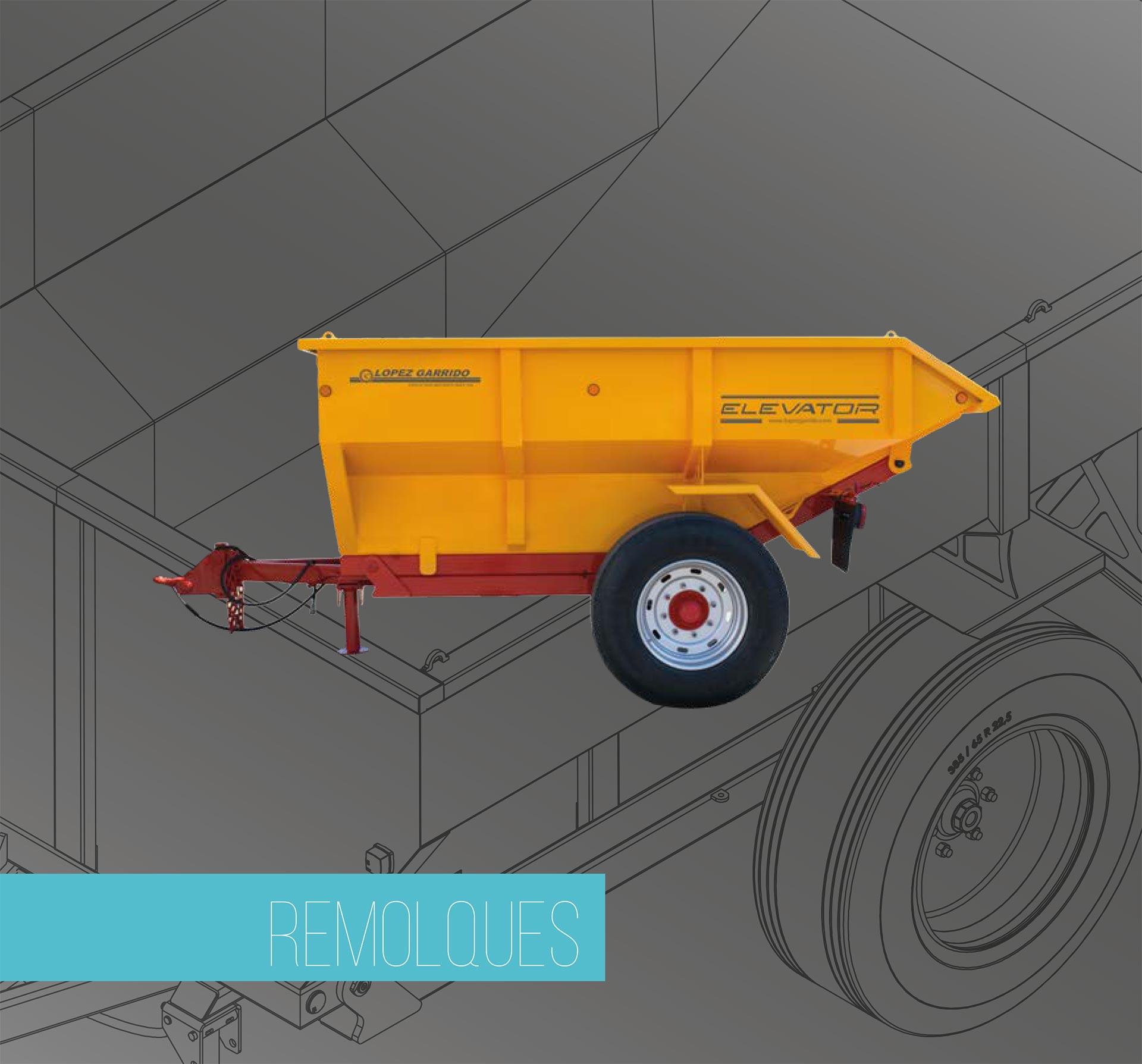 Remolque para tractor López Garrido