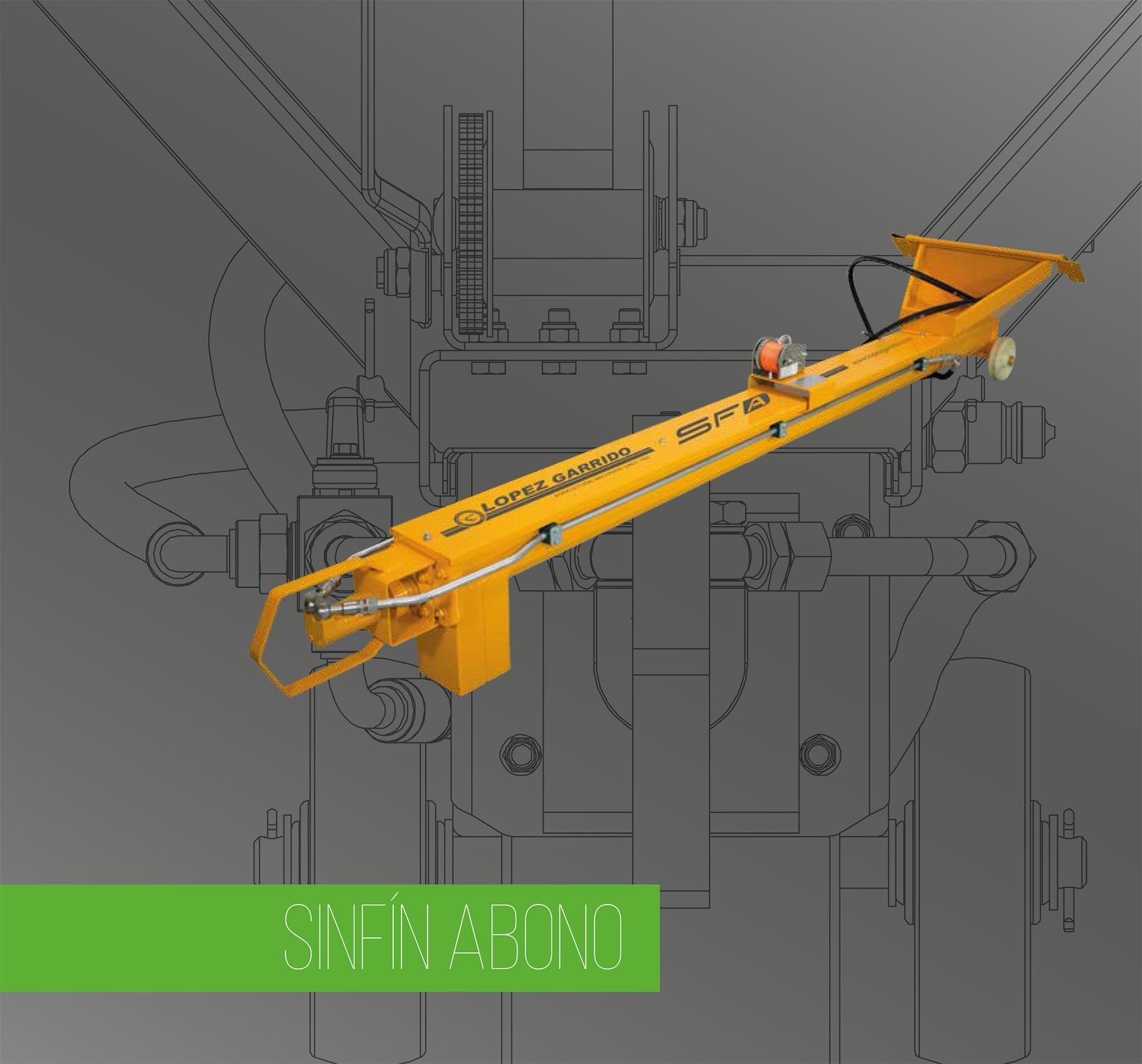Sinfin para tractor López Garrido