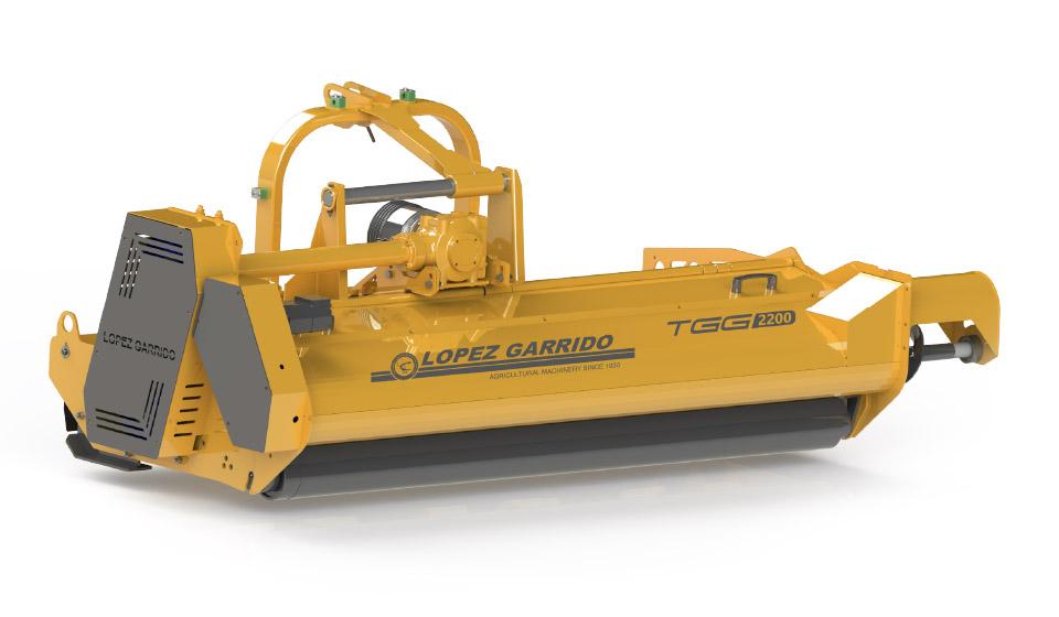 Trituradora de martillos para tractor TGD