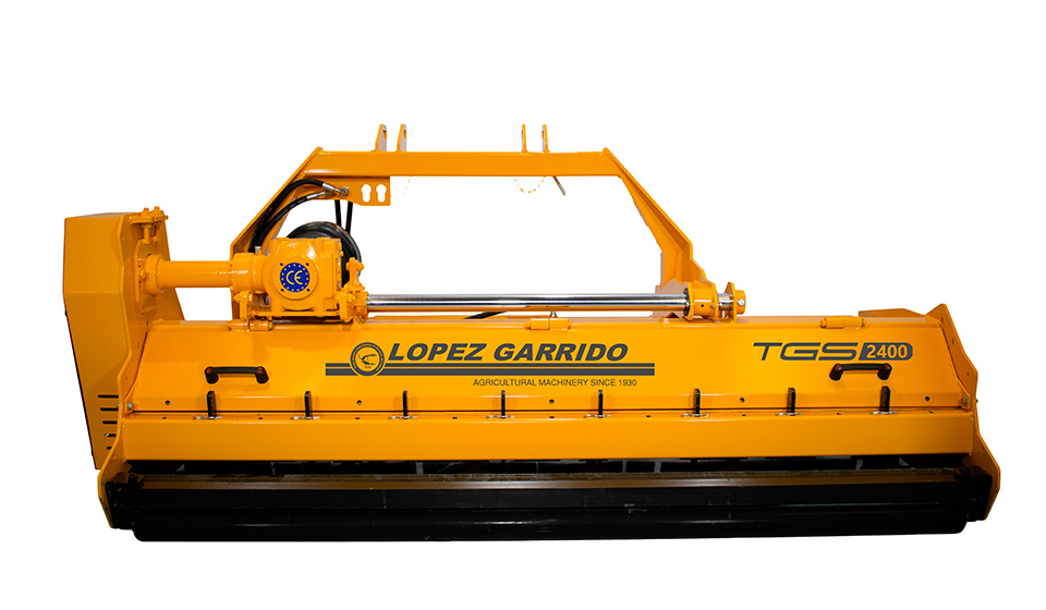 Trituradora de martillos para tractor TGS