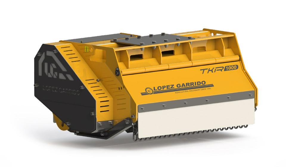 Trituradora de martillos para tractor TKR