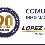 Comunicado López Garrido SA    Covid-19 (Coronavirus)