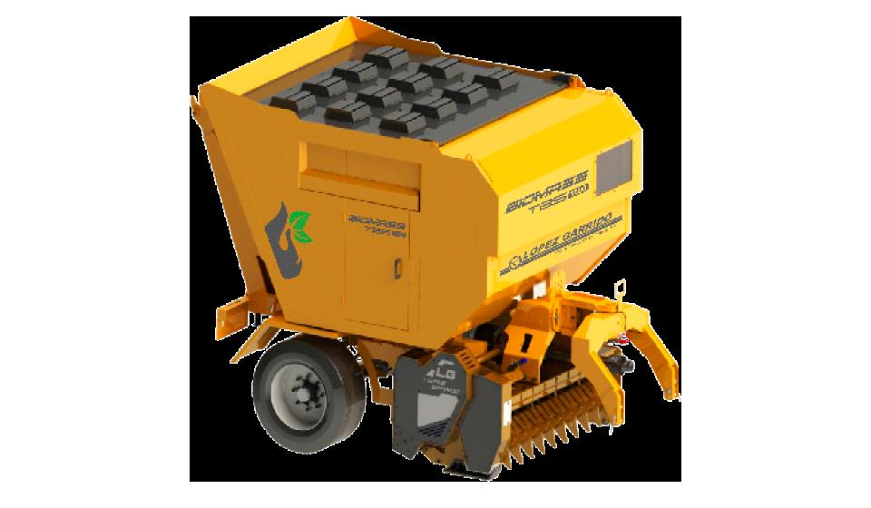 Trituradora de martillos para tractor TBS