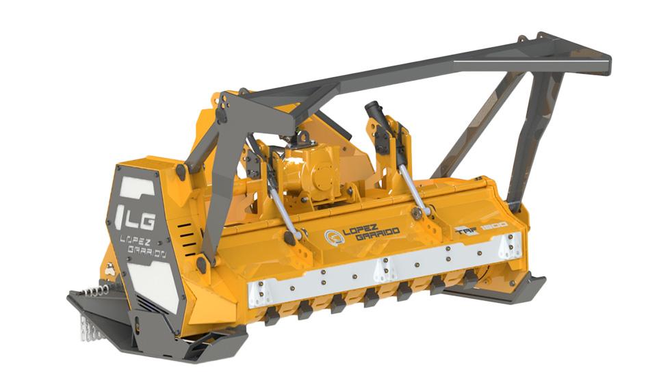 Trituradora de martillos para tractor TAF
