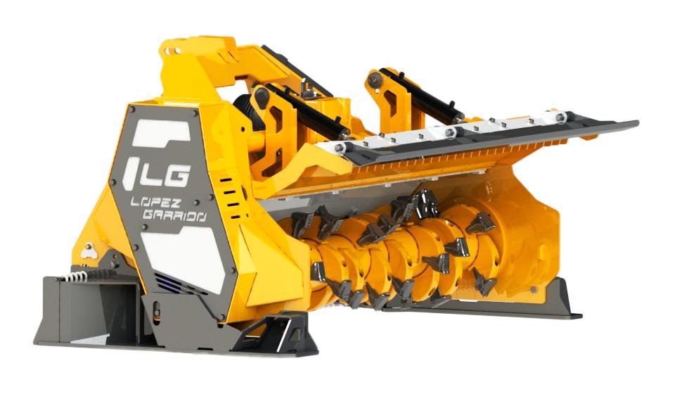 Trituradora de martillos para tractor TPY