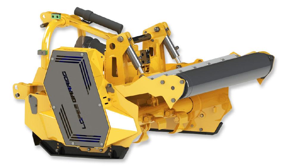 Trituradora de martillos para tractor TMB