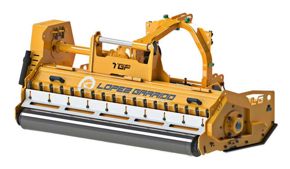 Trituradora de martillos para tractor TGP