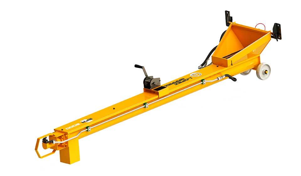 Sinfin para tractor SFA lateral