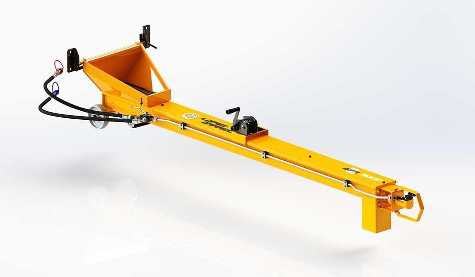 Sinfin para tractor SFA